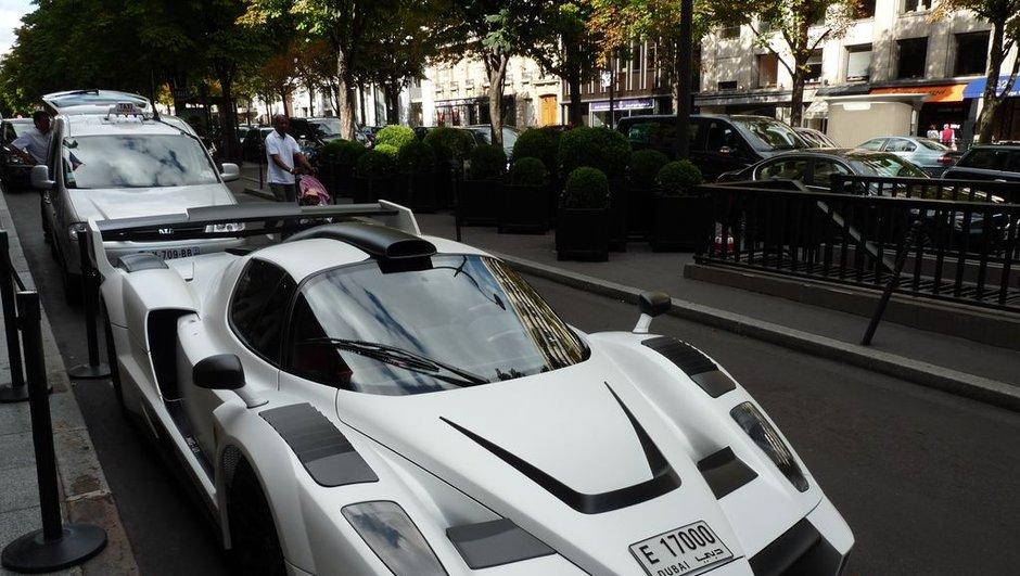 Tour estival 2010 des Champs-Elysées : Gemballa MIG-U1