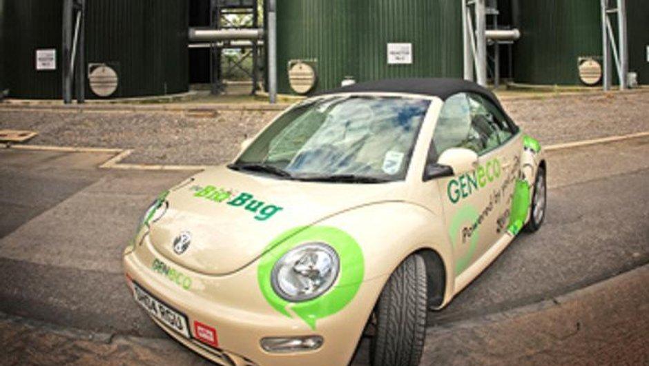Insolite : une VW New Bettle Bio-Bug carburant...aux excréments