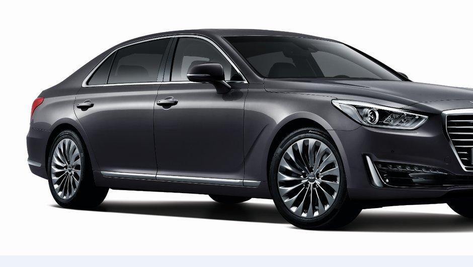 Genesis G90 2016 : le premium de Hyundai fait sa première