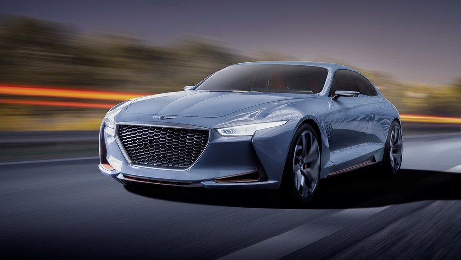 Salon de New York 2016 : Genesis, un concept-car nommé New York