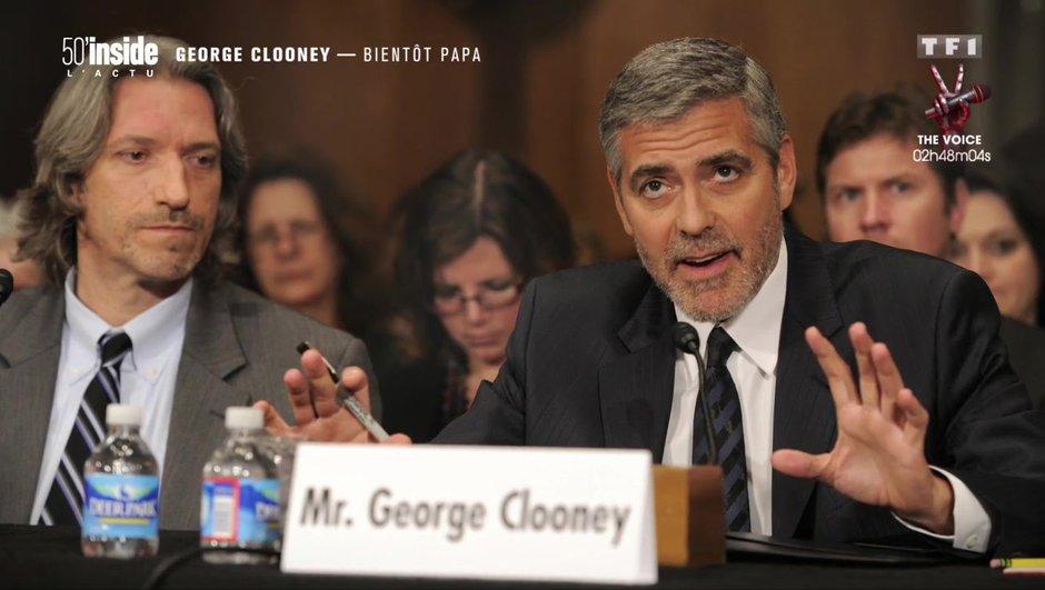 George Clooney bientôt papa et futur candidat à la Maison-Blanche ?