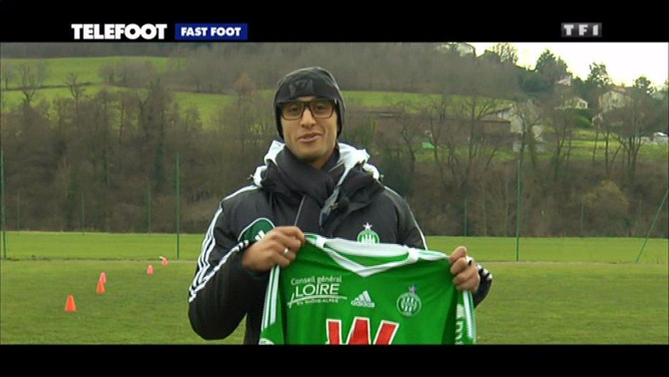 L'addition Téléfoot : Gagnez le maillot de Faouzi GHOULAM (ASSE) !