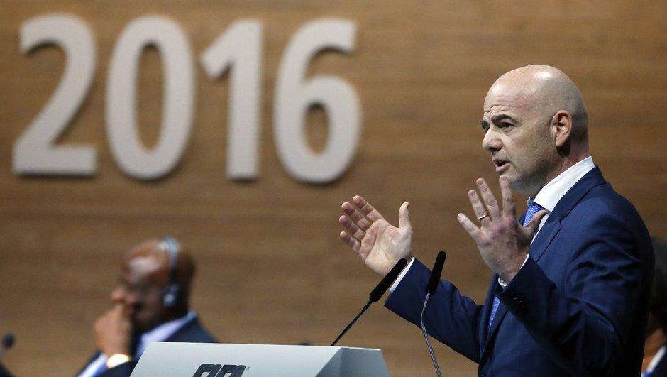 FIFA : Infantino croit toujours en l'avenir de l'arbitrage-vidéo