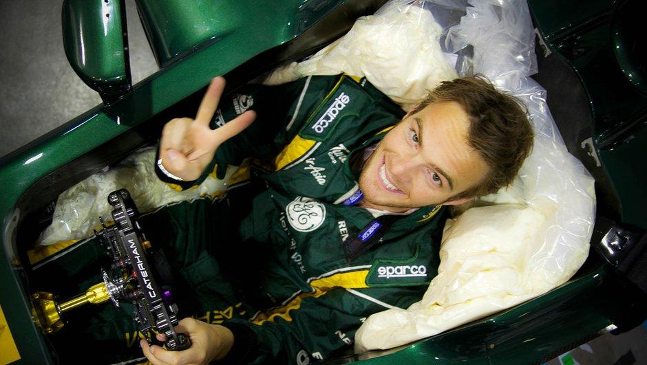 F1 2013 : Giedo van der Garde officialisé chez Caterham