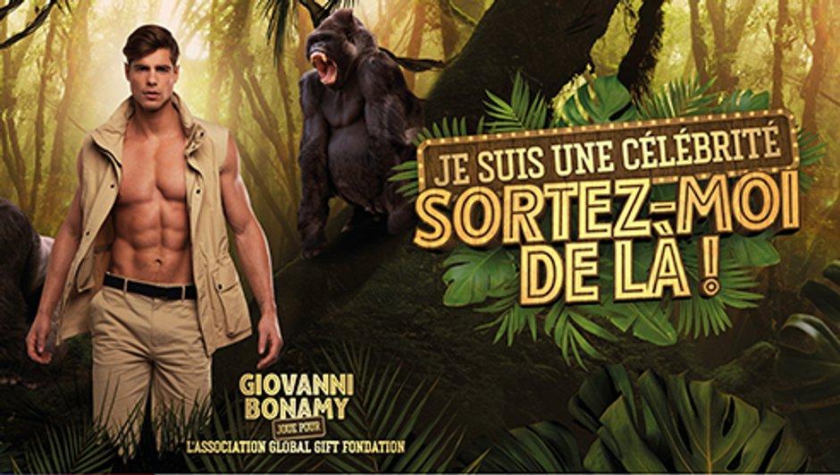 """Giovanni Bonamy joue pour l'association """"Global Gift Fondation"""""""