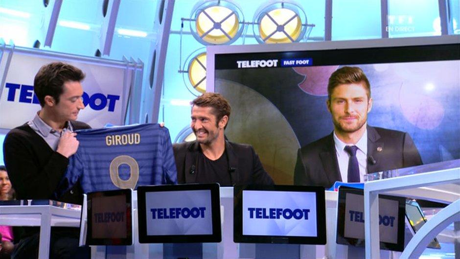 L'addition Téléfoot : Gagnez le maillot de Giroud !