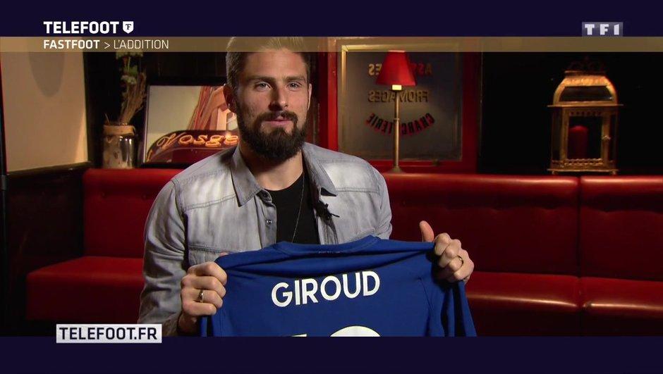 [Téléfoot 18/02/2018] Addition du Fast Foot : Gagnez le maillot d'Olivier Giroud