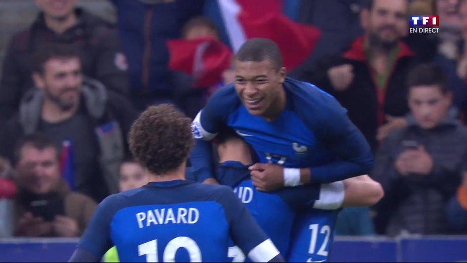 France - pays de Galles : les Bleus à leur main grâce à Griezmann et Mbappé