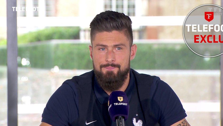 """[Exclu Téléfoot 13/11] - Giroud : """"Je n'ai aucun doute concernant mon avenir à Arsenal"""""""