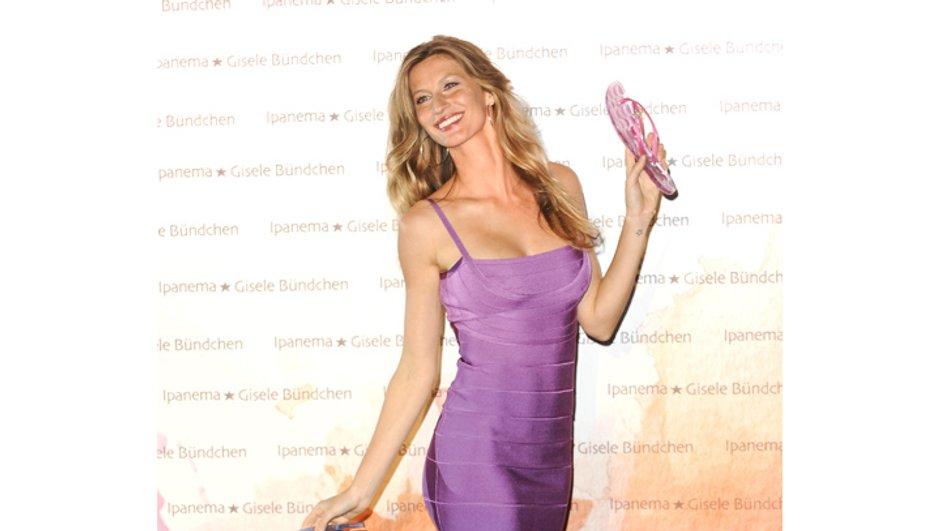 Gisèle Bündchen mieux payée que Kate Moss et Heidi Klum