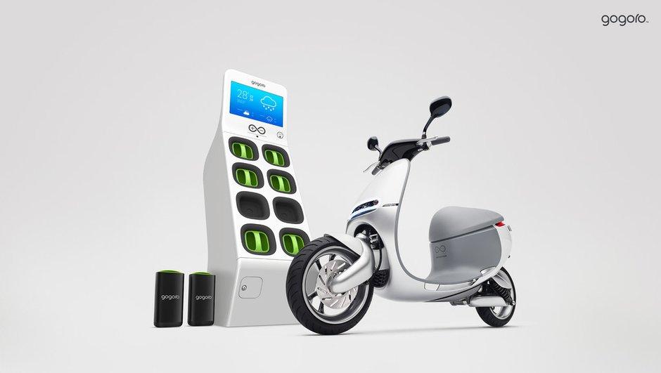 Gogoro Smartscooter : le scooter électrique du futur ?