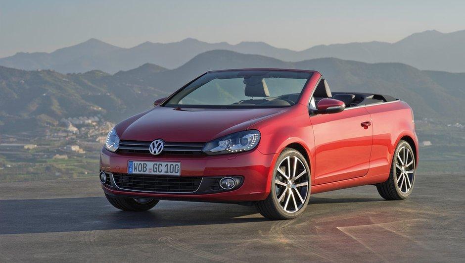 Salon de Genève 2011 : La Volkswagen Golf Cabriolet est de retour !