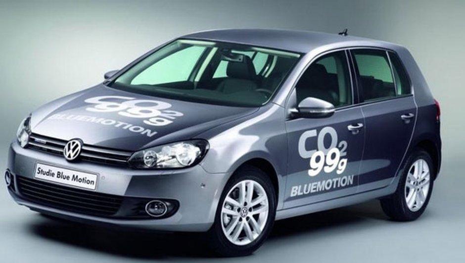 Golf VI Bluemotion Concept : 99 g/km de CO2