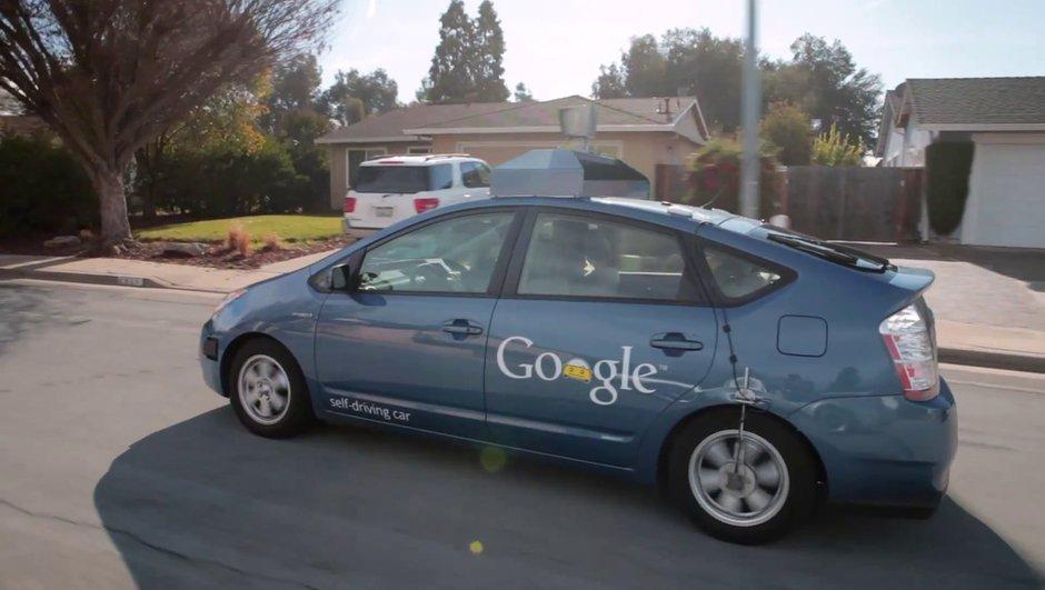 Google : première immatriculation pour une voiture autonome !