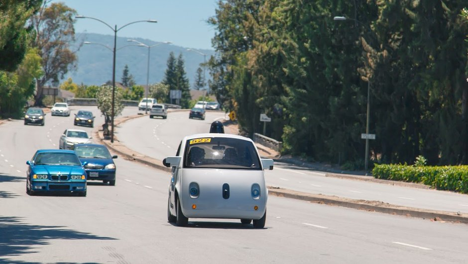 La Google Car déjà sur les routes californiennes