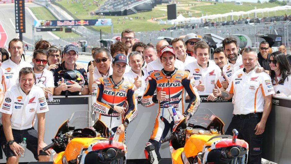 MotoGP 2014 - Austin : Marquez favori de la course malgré sa blessure