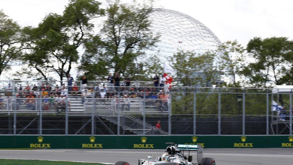 F1 - GP du Canada 2014 : Hamilton domine les Essais Libres 3
