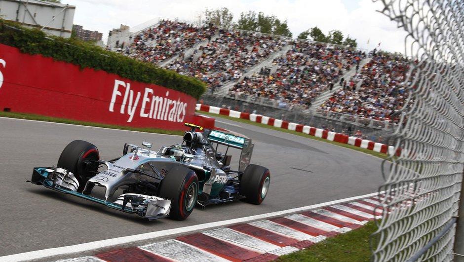 F1 - GP du Canada 2014 : Pole position pour Rosberg