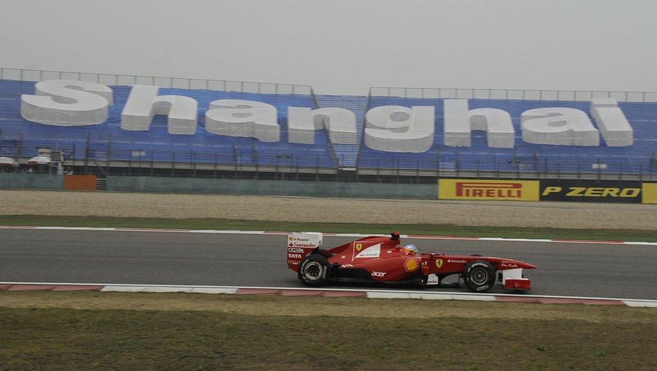 F1 : présentation du GP de Chine 2012