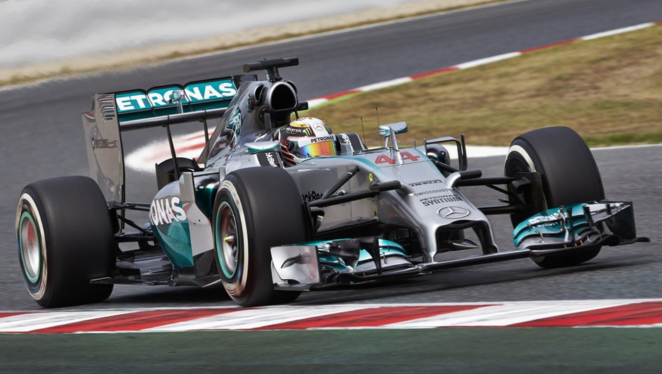F1 - GP d'Espagne 2015 : Hamilton réagit aux essais libres 2