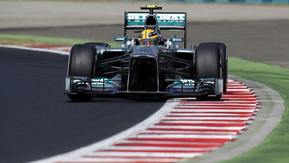 F1 - Essais 1 GP d'Italie 2013 : Hamilton se démarque