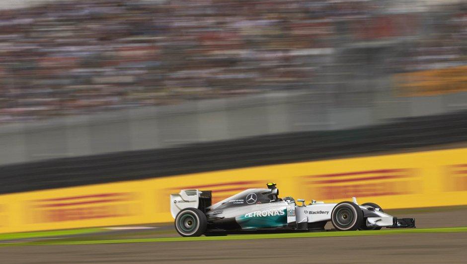 F1 - GP du Japon 2014 : Rosberg en pole position devant Hamilton