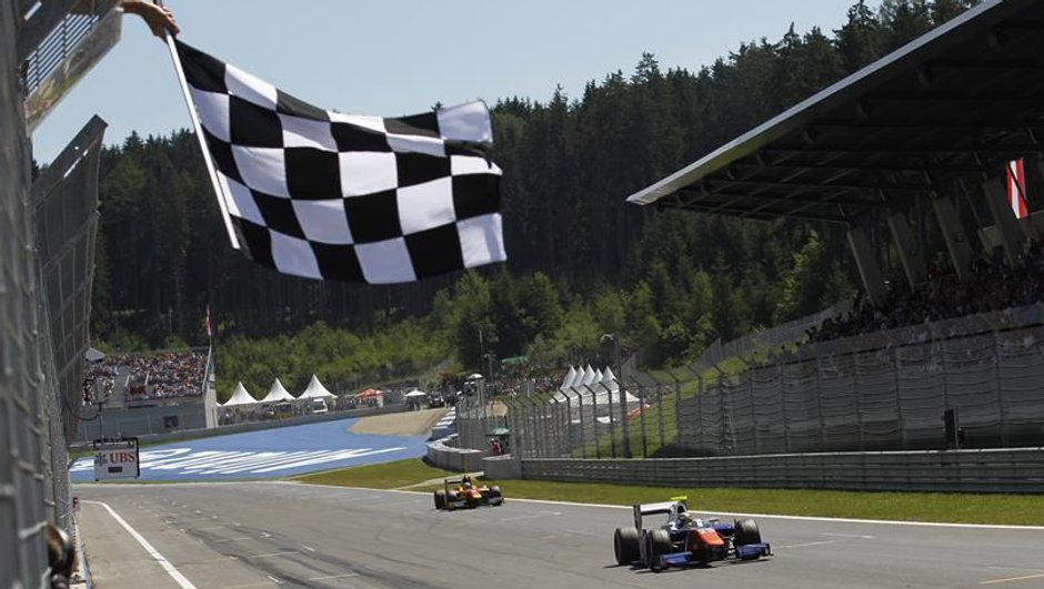 GP2 - Autriche 2014 : Cecotto riposte pour la 2e course