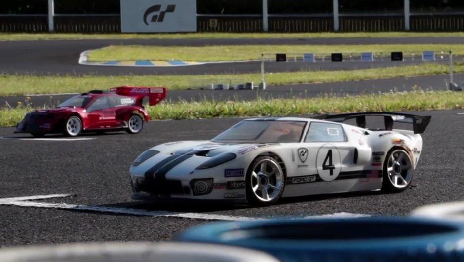 Insolite: il rend hommage à Gran Turismo avec des voitures radiocommandées
