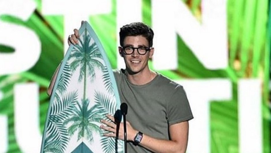 Grant Gustin, star des Teen Choice Awards !