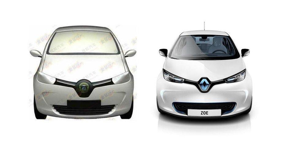 La Renault ZOE déjà copiée en Chine !