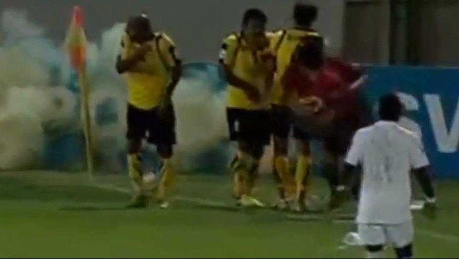 Insolite : un match vraiment explosif en Iran ! (vidéo)