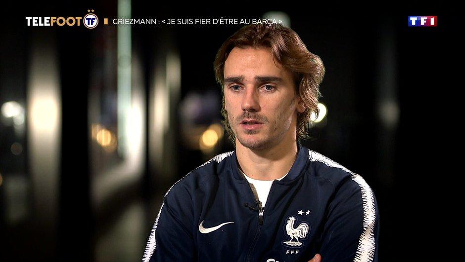 """[EXCLU Téléfoot 17/11] - Griezmann : """"Si je peux marquer, tant mieux"""""""
