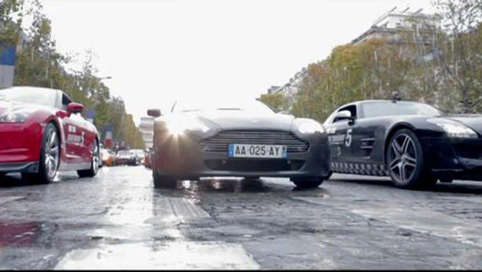 Gran Turismo 5 dans Paris !