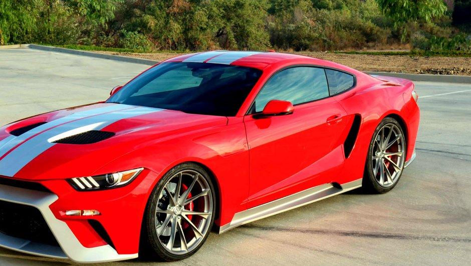 Insolite : Quand la Ford Mustang se prend pour une GT
