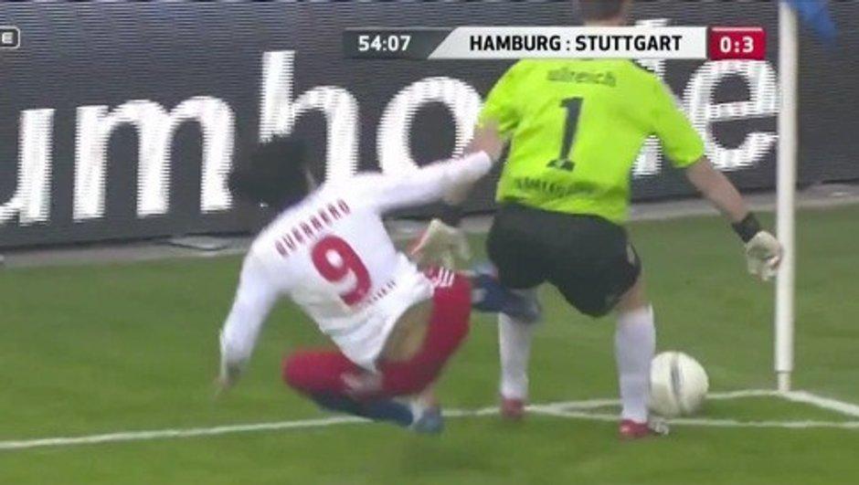 Insolite : Guerrero assassine le gardien de Stuttgart ! (vidéo)