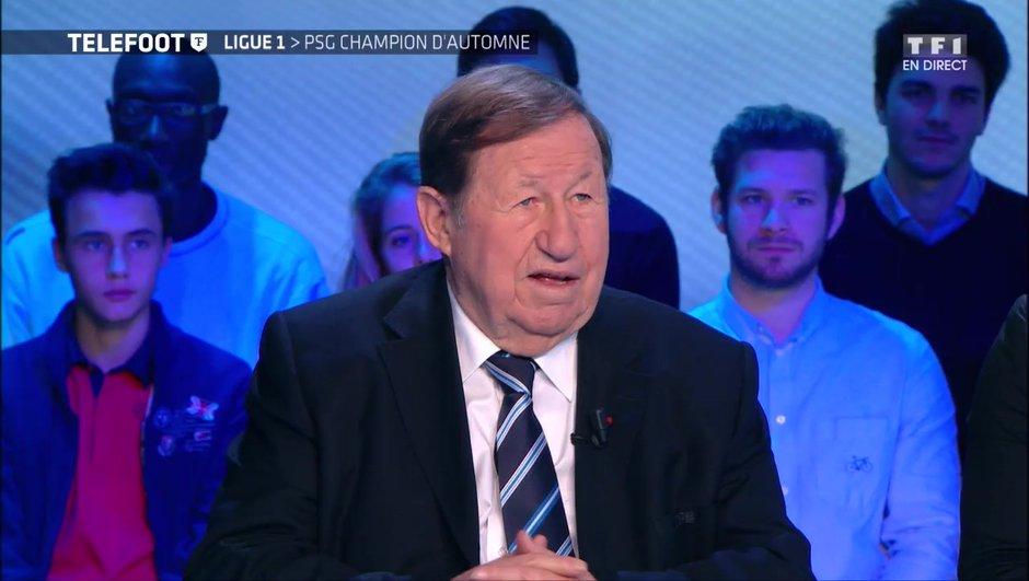 """[EXCLU Téléfoot 10/12] - Guy Roux : """"Mbappé est dans le peloton des meilleurs, je pense qu'il va progresser avec Neymar à ses côtés"""""""