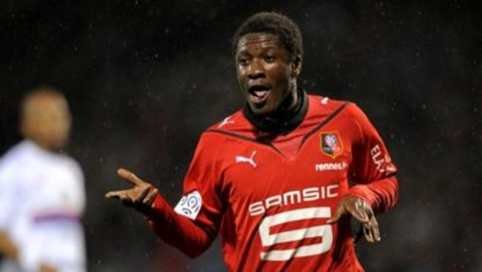 Transferts : Asamoah Gyan va quitter Rennes