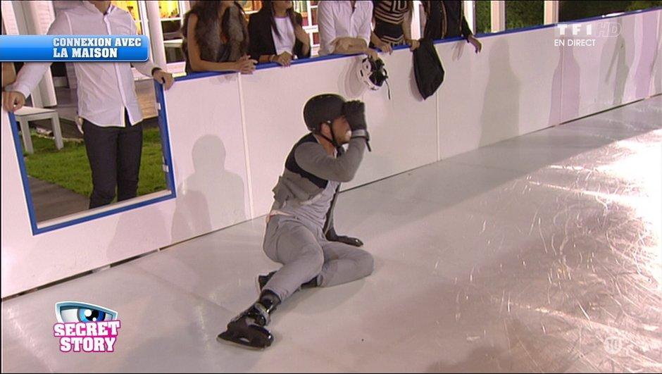 Rémi et Loïc, leurs chutes sur la patinoire !