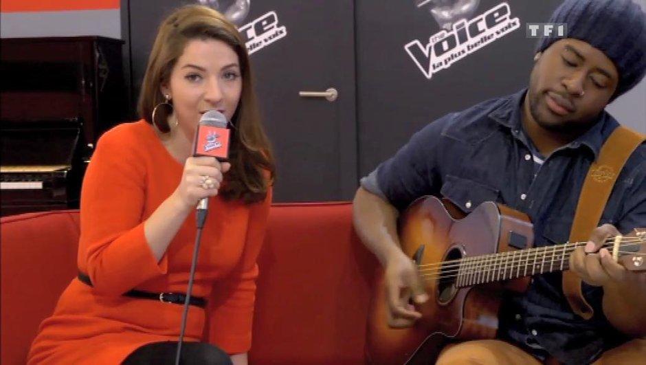 The Voice : Un couple dans l'équipe de Jenifer