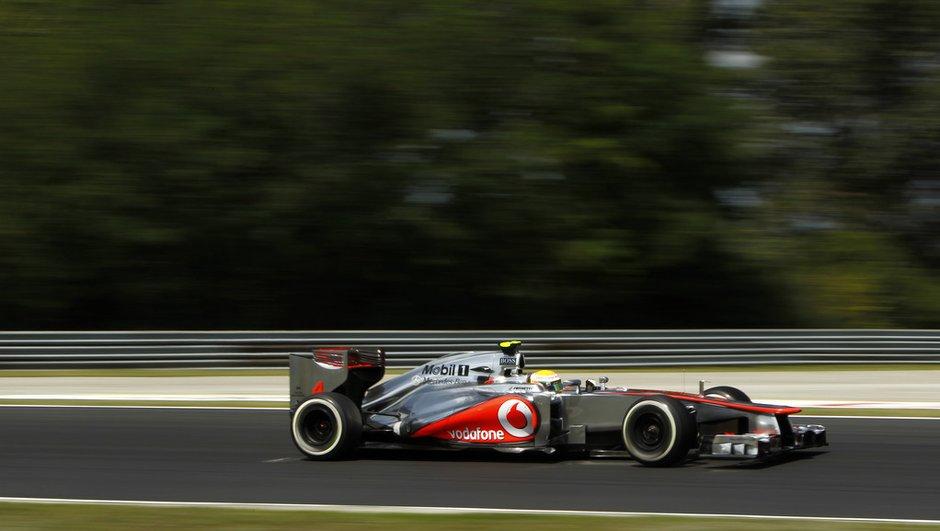 F1 - GP de Hongrie : pole position de Hamilton, Grosjean second