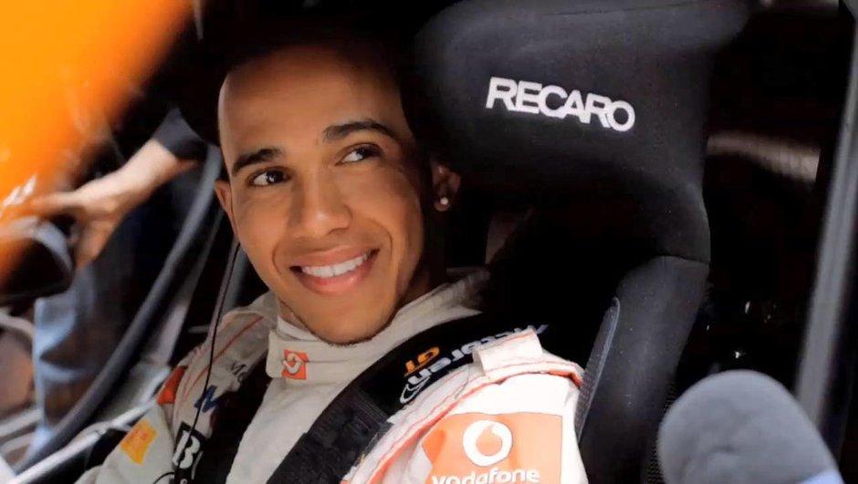 Vidéo : Hamilton et Button au Festival of Speed 2011