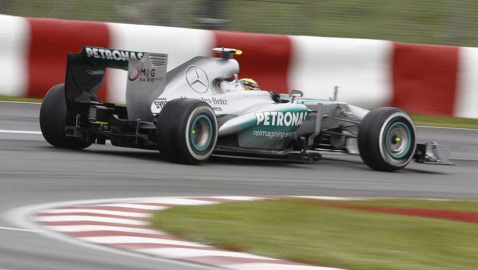 F1 - Essais 1 GP Allemagne : Les Mercedes loin devant
