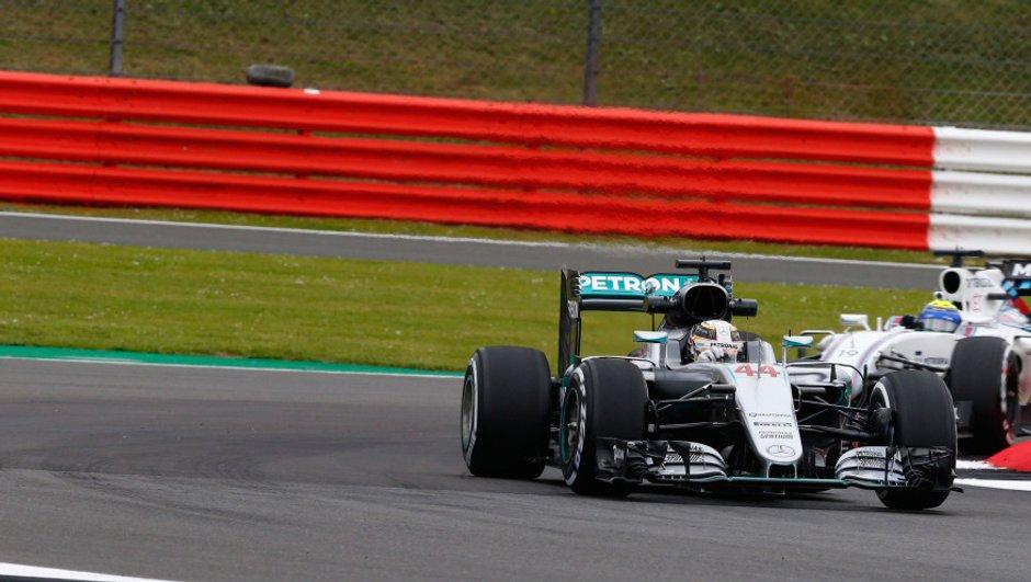 F1 - Silverstone 2016 : Hamilton devance Rosberg d'un souffle lors des essais libres 3