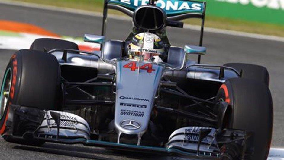 F1 GP d'Italie 2016 : Hamilton ne comprend pas son départ manqué