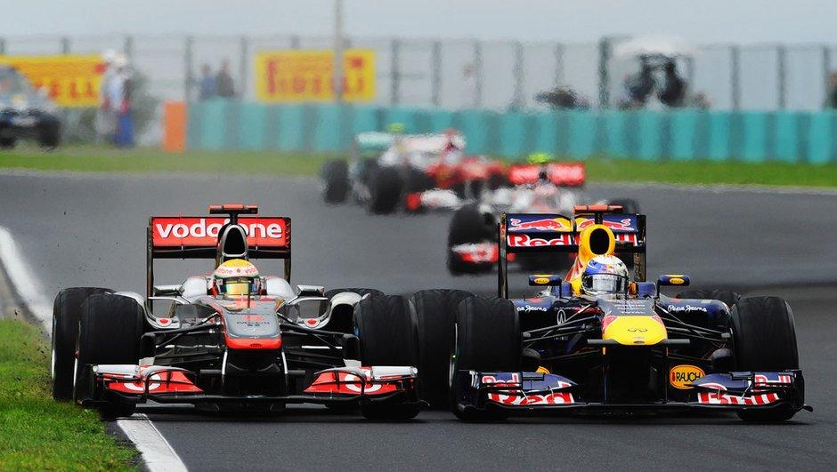F1 : Button remporte un GP de Hongrie exceptionnel !