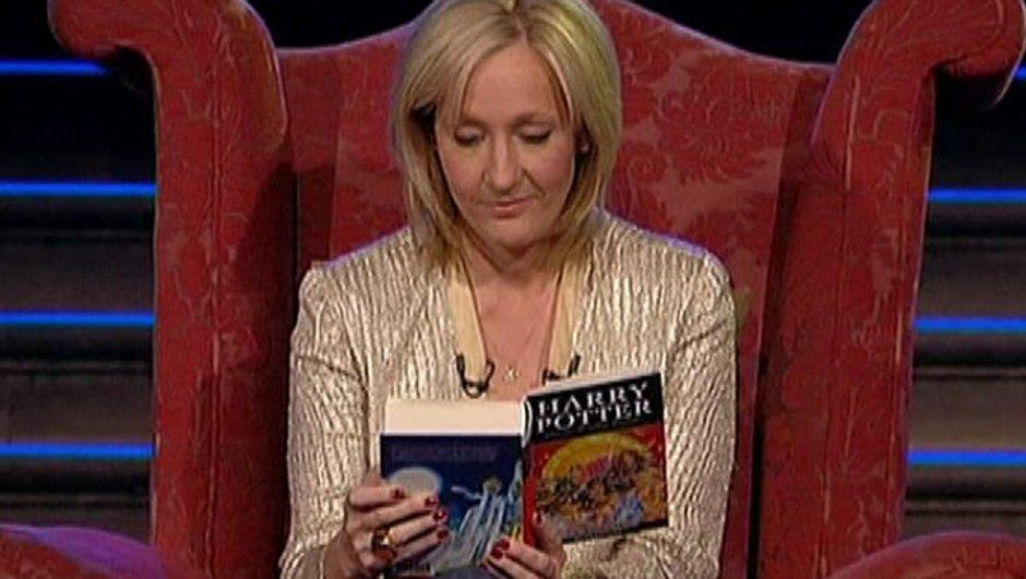 Poppy Montgomery dans la peau de J.K Rowling