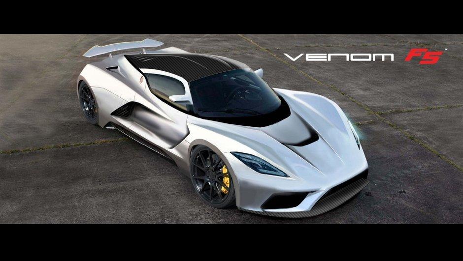 Hennessey Venom F5 2016 : 1.400 chevaux et 467 km/h annoncés