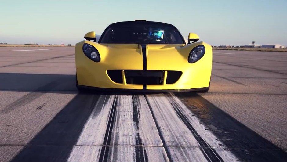 Hennessey Venom GT Spyder : la plus rapide découvrable du monde !