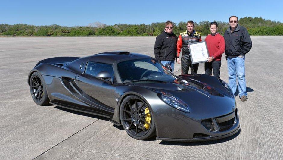 Hennessey Venom GT : La voiture la plus rapide du monde en vente