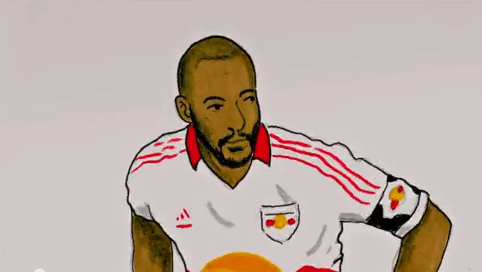 VIDEO Insolite : Thierry Henry animé